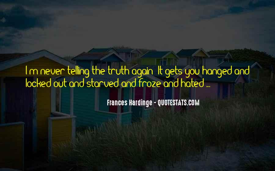 Starved Quotes #359536