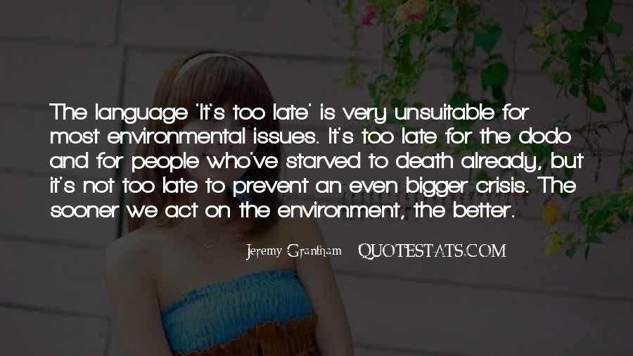 Starved Quotes #675377