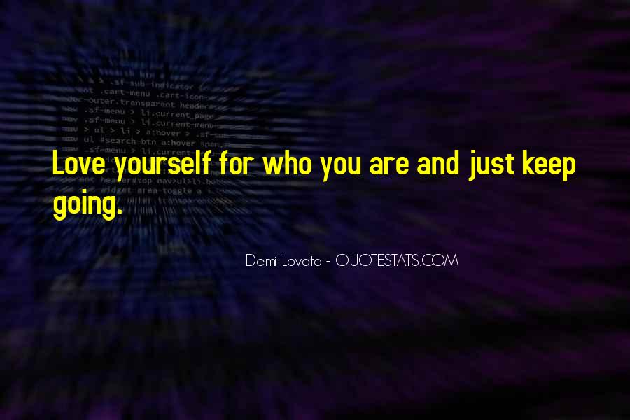 Quotes About Demi Lovato #108583