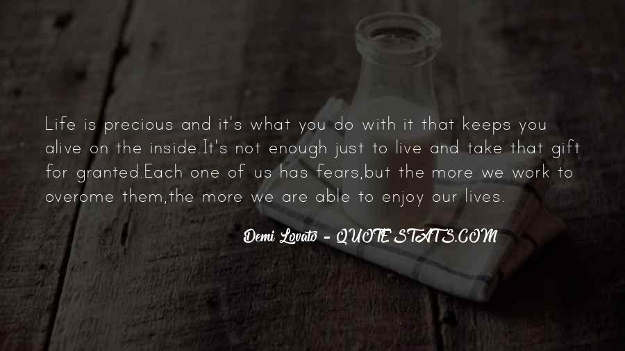 Quotes About Demi Lovato #247436