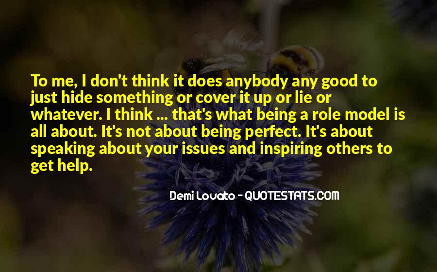 Quotes About Demi Lovato #257777