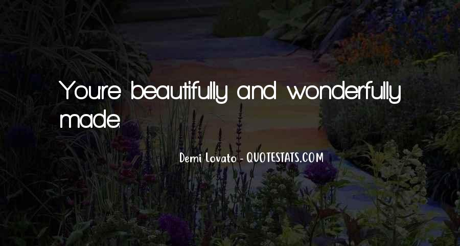Quotes About Demi Lovato #435676