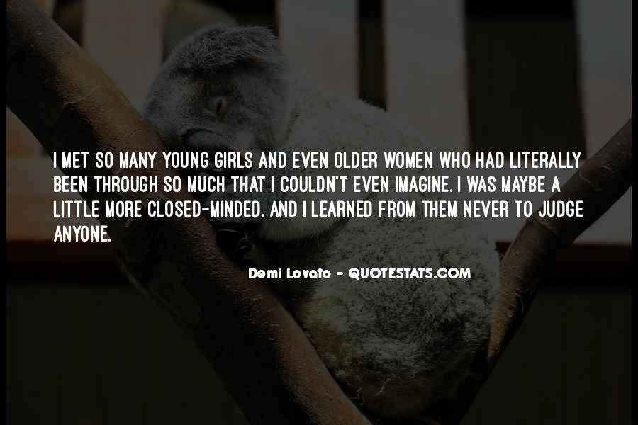 Quotes About Demi Lovato #483712