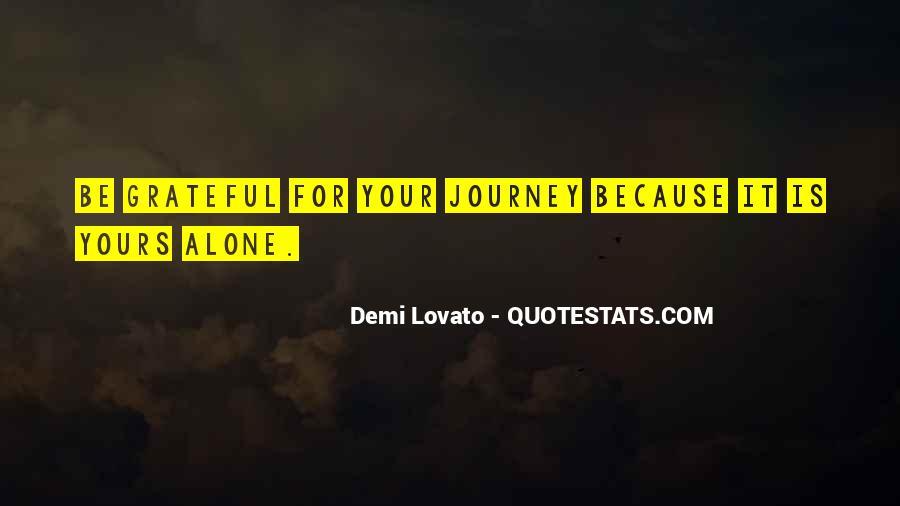 Quotes About Demi Lovato #492397
