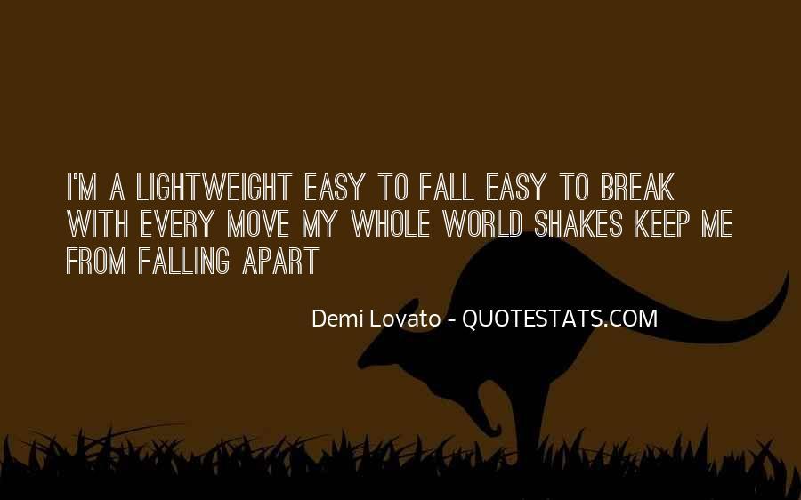 Quotes About Demi Lovato #497080