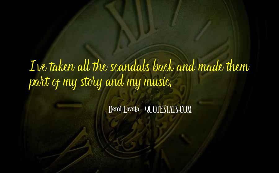 Quotes About Demi Lovato #54289