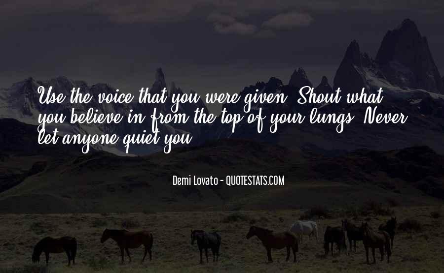 Quotes About Demi Lovato #74426