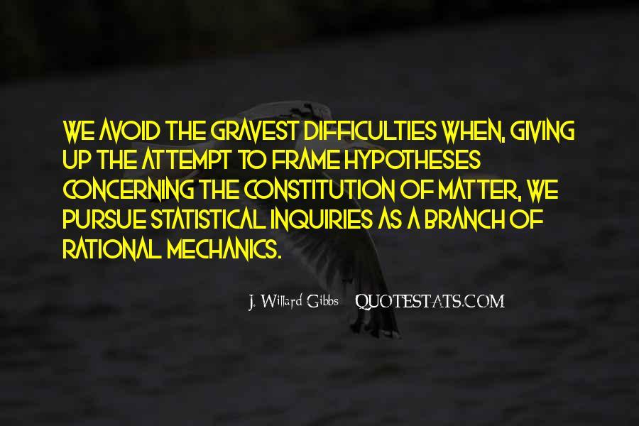 Statistical Mechanics Quotes #1205403