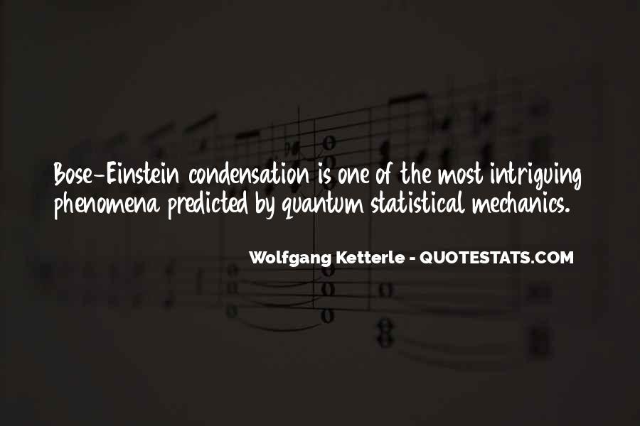 Statistical Mechanics Quotes #1782910