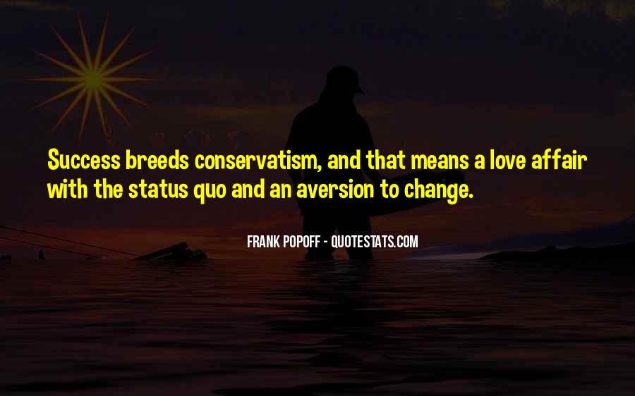 Status Quo Love Quotes #1797811