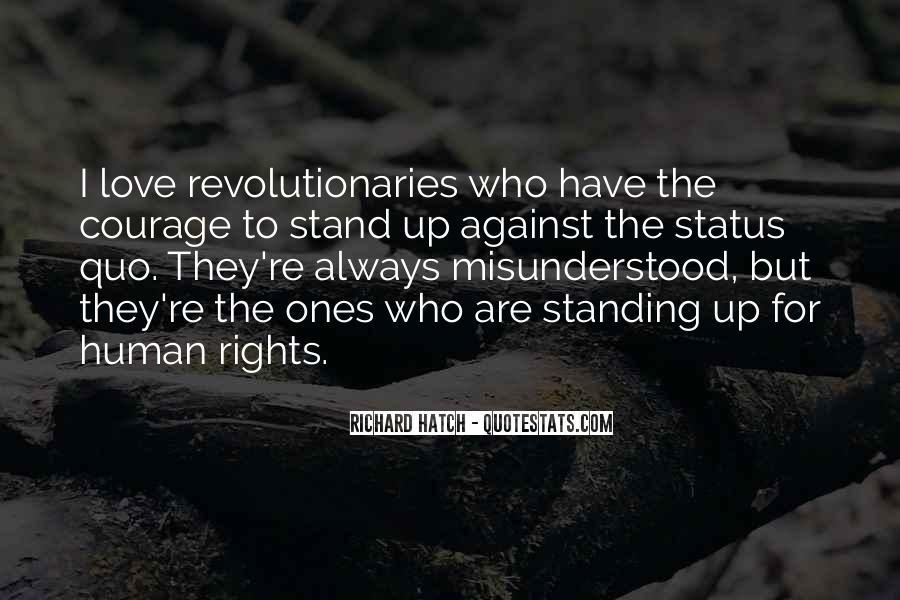 Status Quo Love Quotes #22512