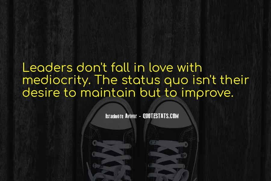 Status Quo Love Quotes #534773