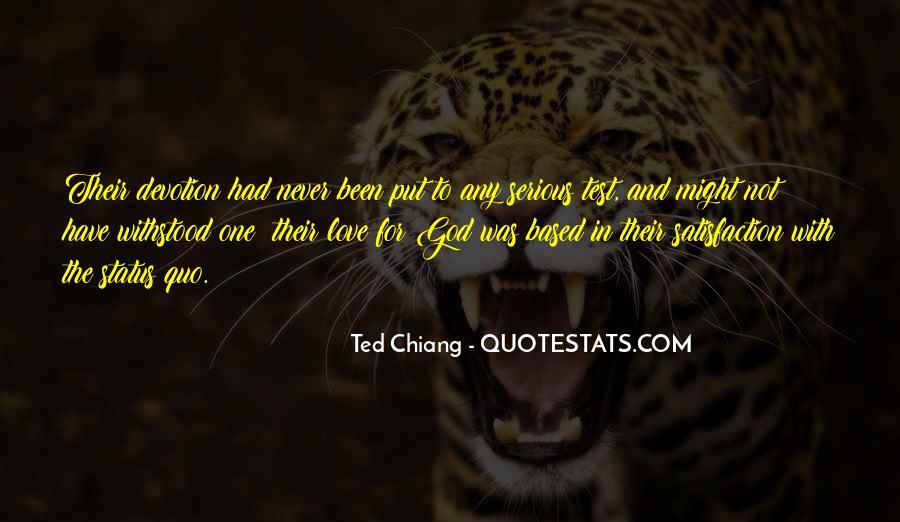 Status Quo Love Quotes #561631
