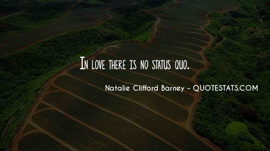 Status Quo Love Quotes #955190