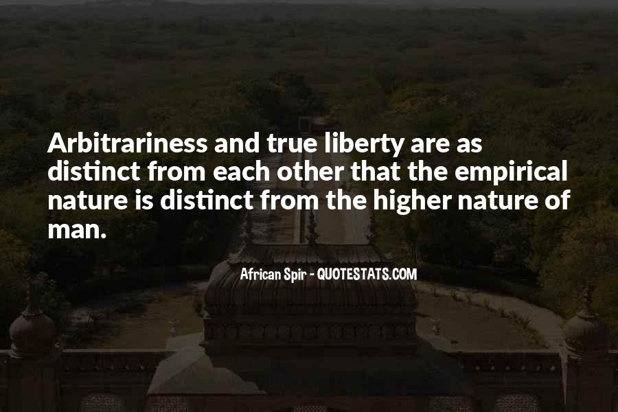 Quotes About Arbitrariness #1147472