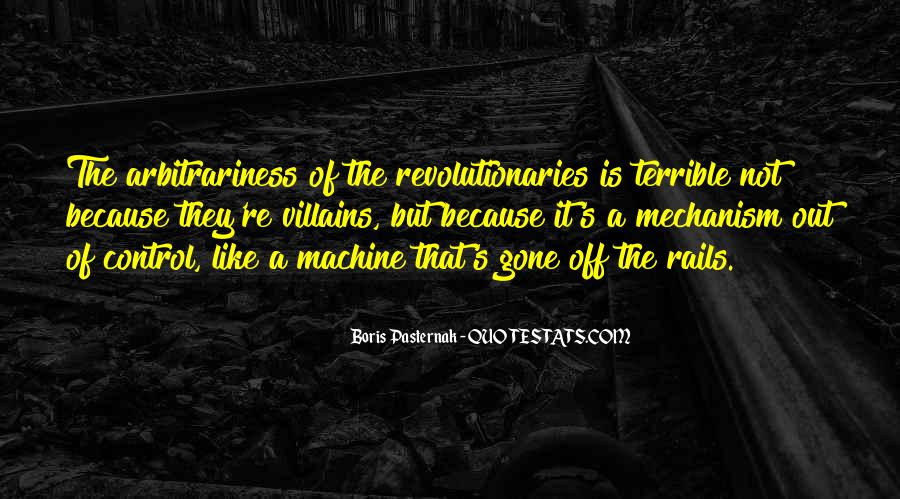 Quotes About Arbitrariness #1846121