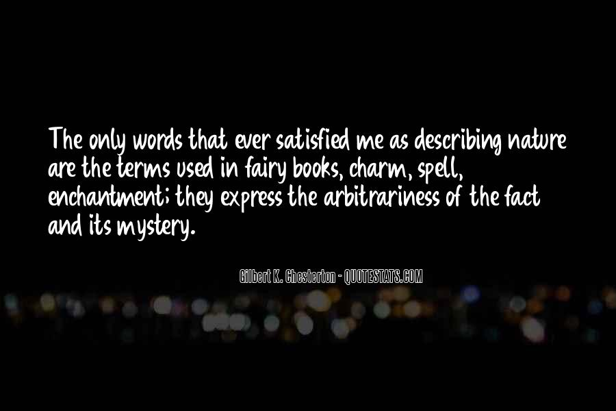 Quotes About Arbitrariness #396712
