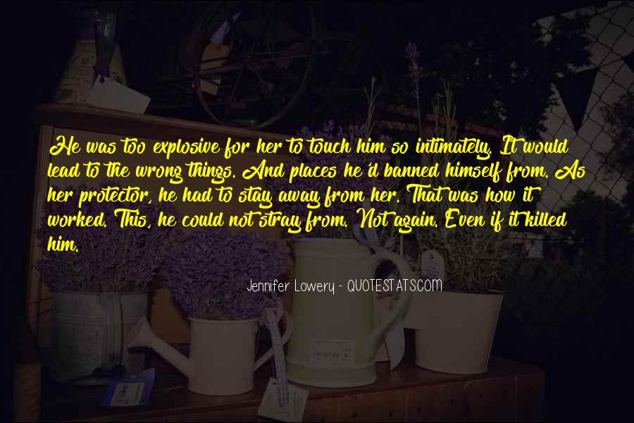 Stay Away Love Quotes #1037405