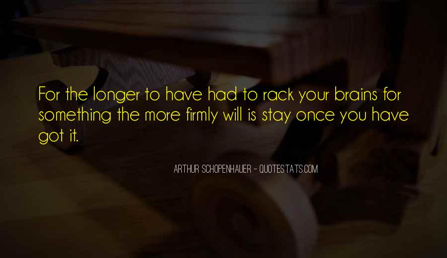 Stay Longer Quotes #205383