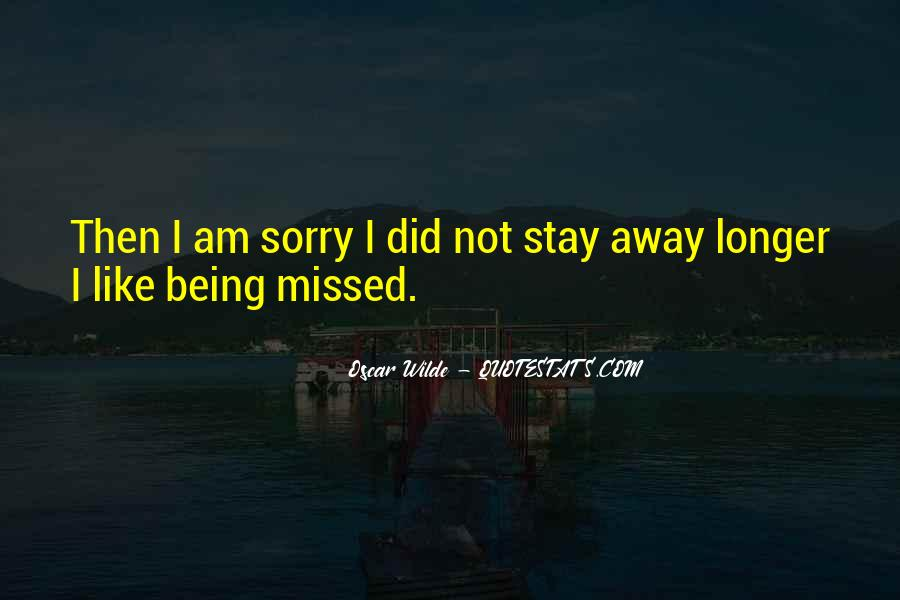 Stay Longer Quotes #331925