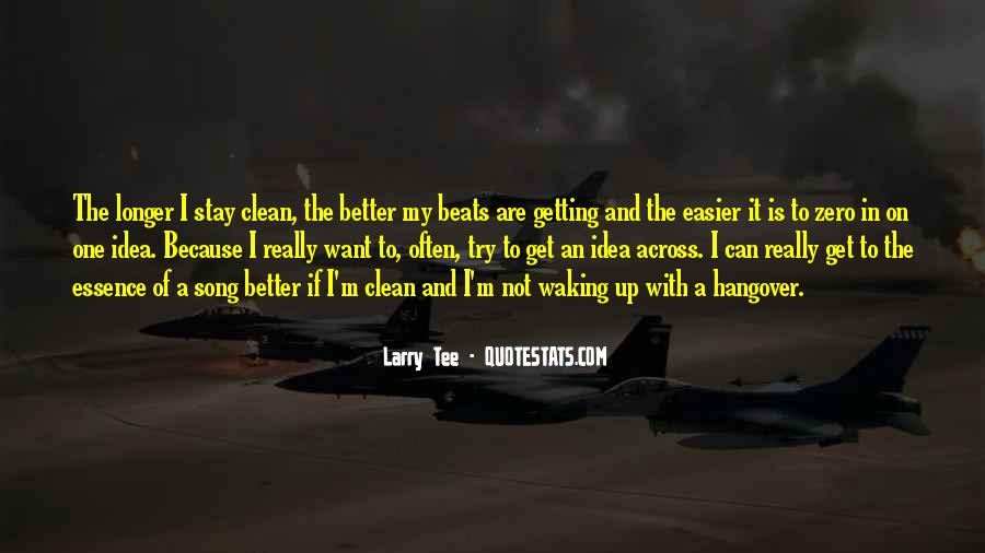 Stay Longer Quotes #765059