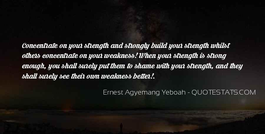 Stay Strong And Focused Quotes #372728