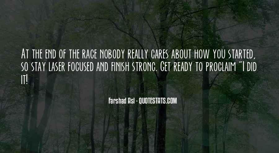 Stay Strong And Focused Quotes #95668