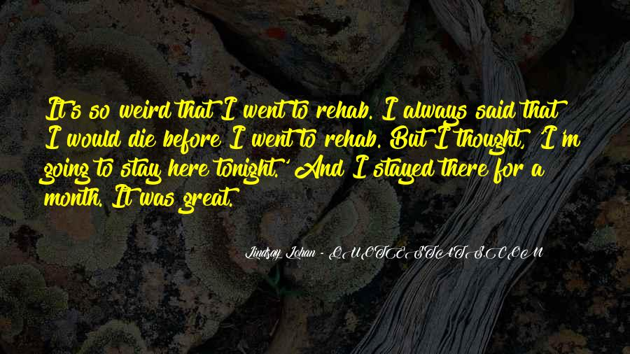 Stay With Me Tonight Quotes #1612113