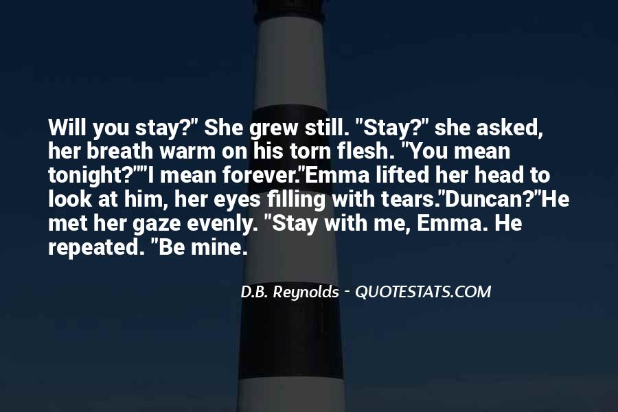 Stay With Me Tonight Quotes #1647472