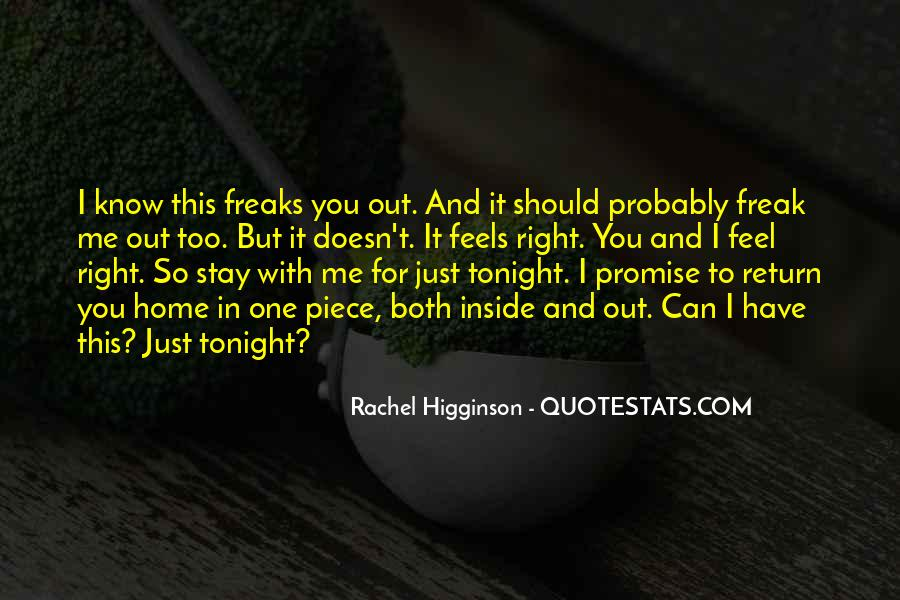 Stay With Me Tonight Quotes #1701093