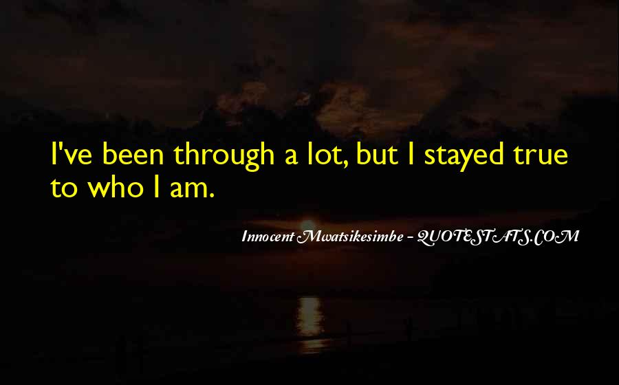Stayed Quotes #71552