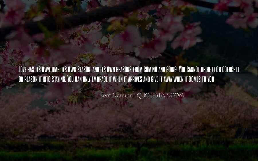 Staying Far Away Quotes #306080