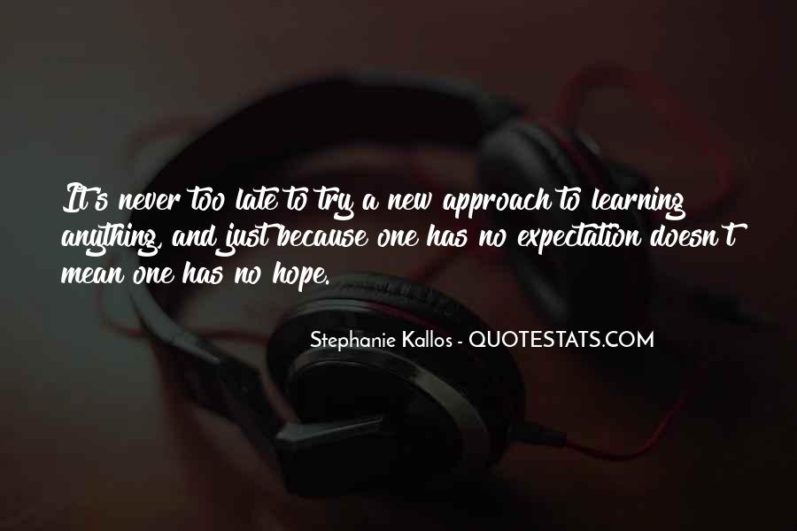 Quotes About Stephanie #10095
