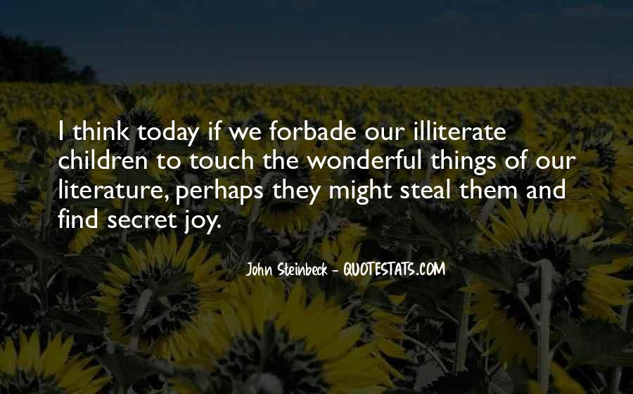 Steal My Joy Quotes #340622