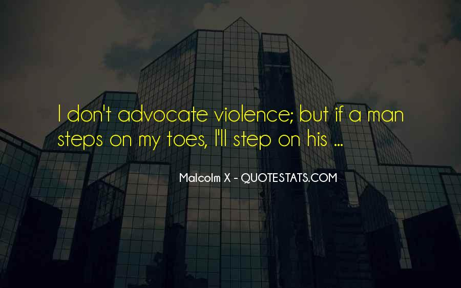 Step On My Toes Quotes #712643