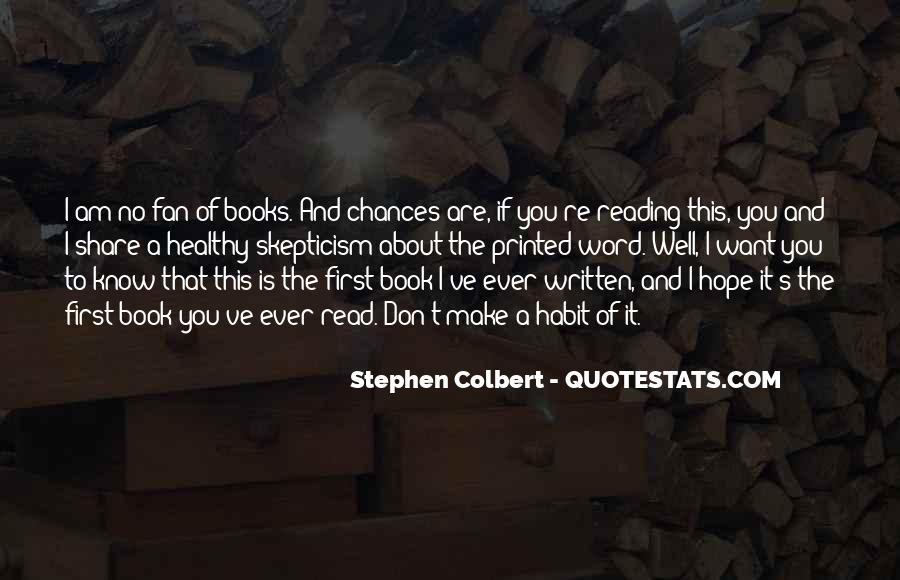 Stephen Colbert Book Quotes #6899