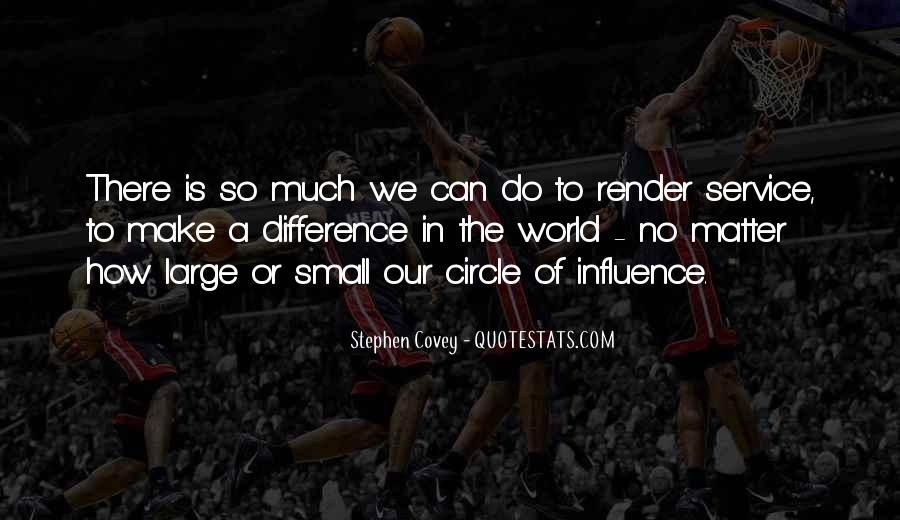 Stephen Covey Circle Of Influence Quotes #283068