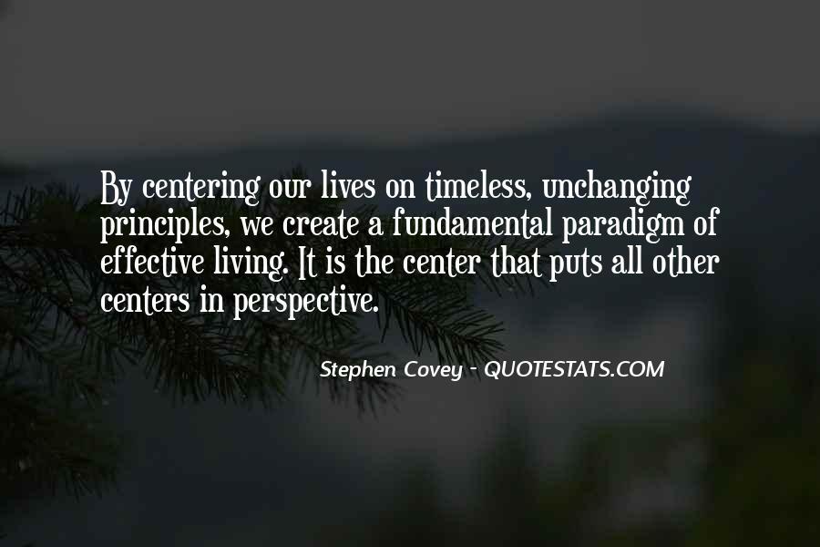 Stephen Covey Paradigm Quotes #1369896