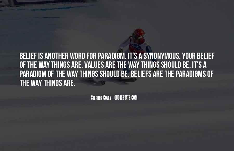 Stephen Covey Paradigm Quotes #1411758