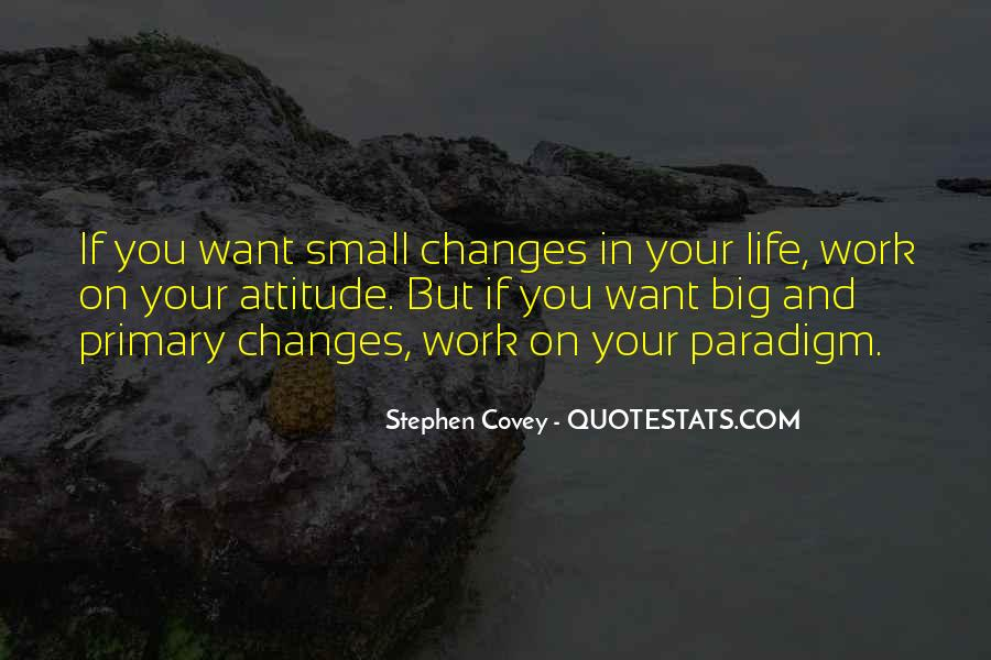Stephen Covey Paradigm Quotes #1625723