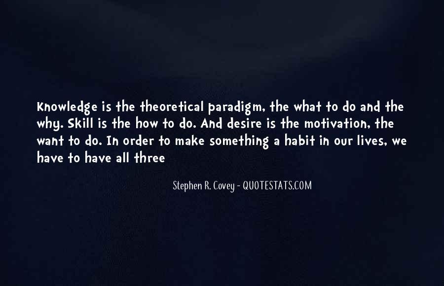 Stephen Covey Paradigm Quotes #783160