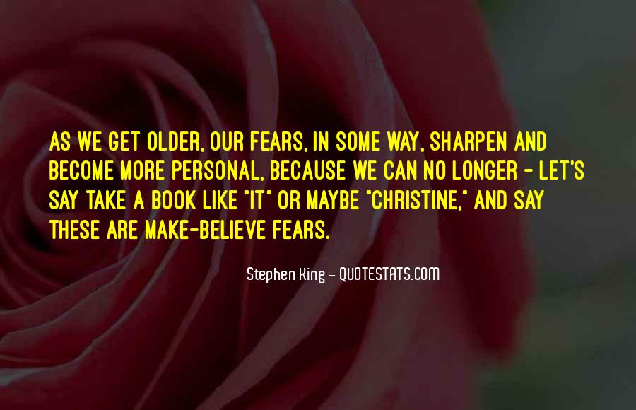 Stephen King Christine Book Quotes #375025