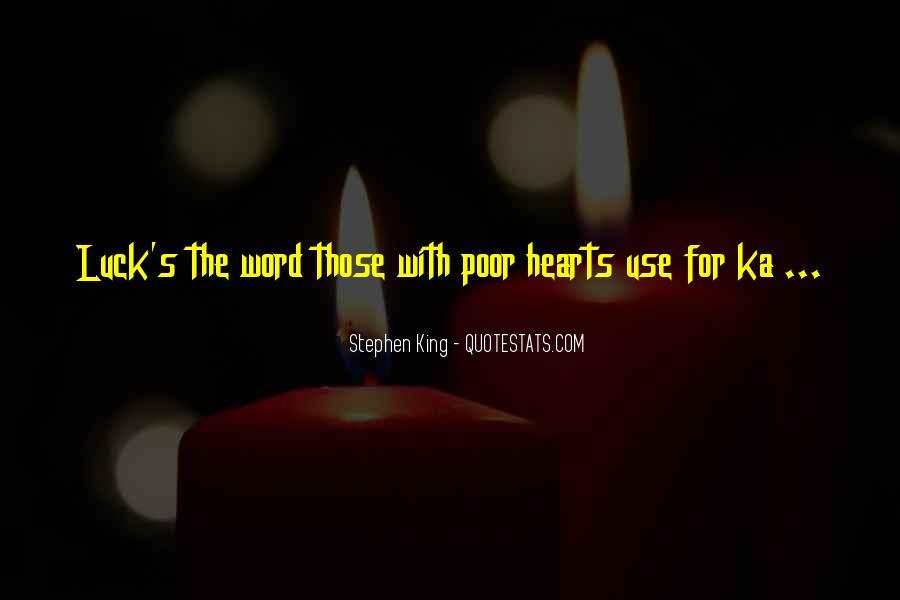 Stephen King Ka Quotes #1223261