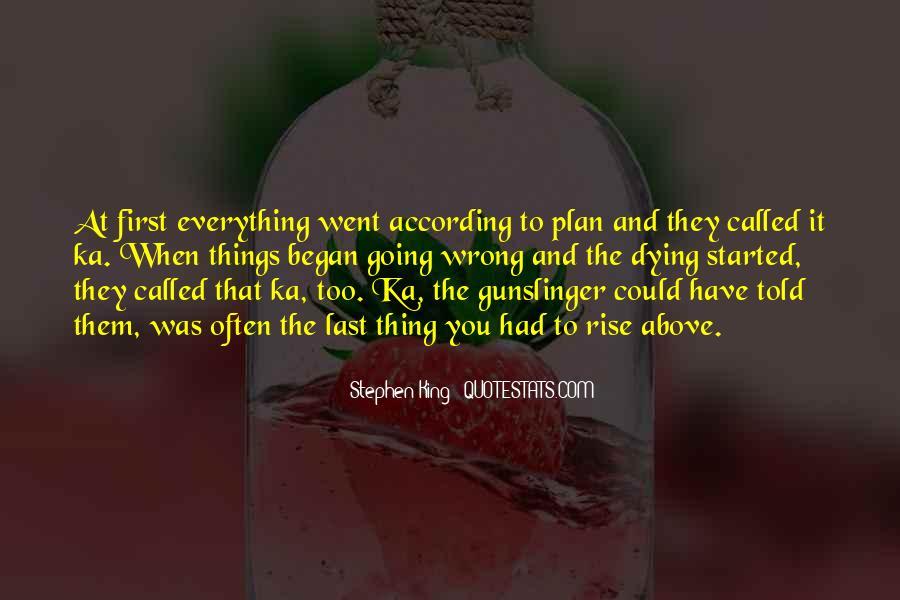 Stephen King Ka Quotes #190123