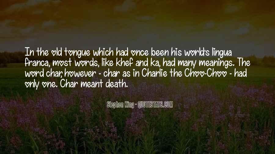 Stephen King Ka Quotes #358200