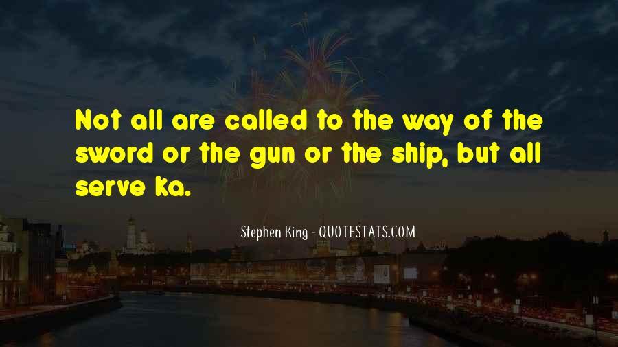 Stephen King Ka Quotes #618337