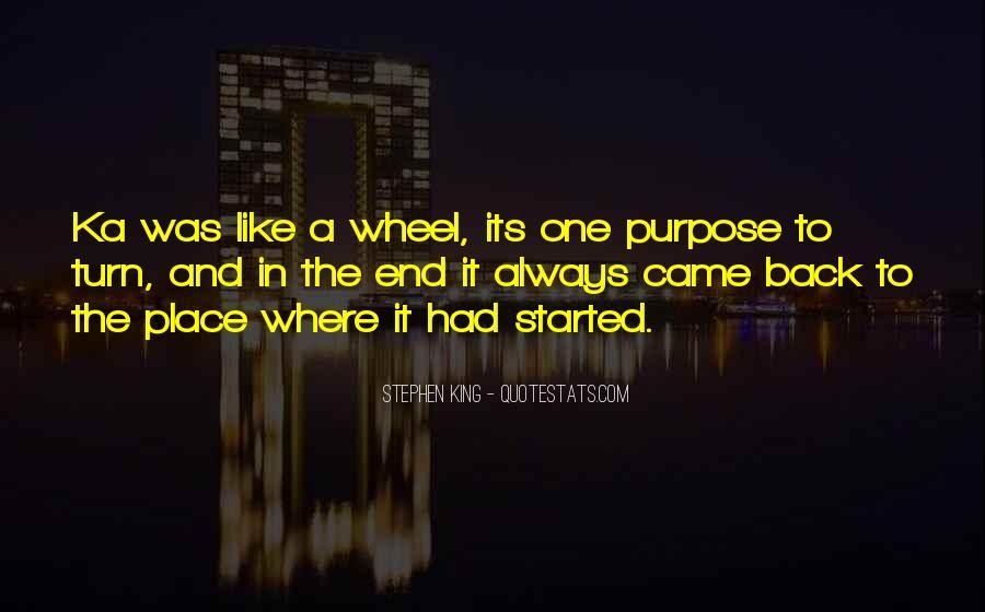 Stephen King Ka Quotes #66179
