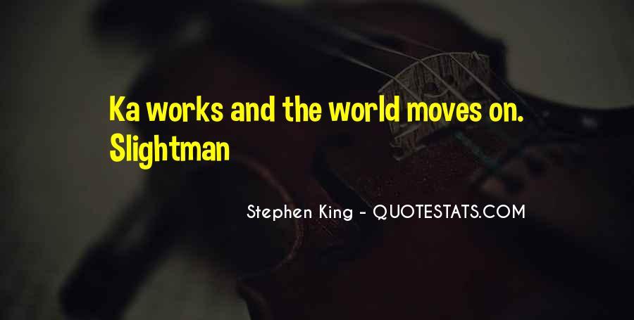 Stephen King Ka Quotes #686665