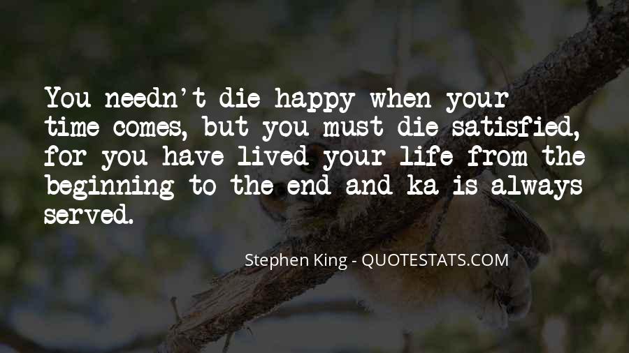 Stephen King Ka Quotes #773946
