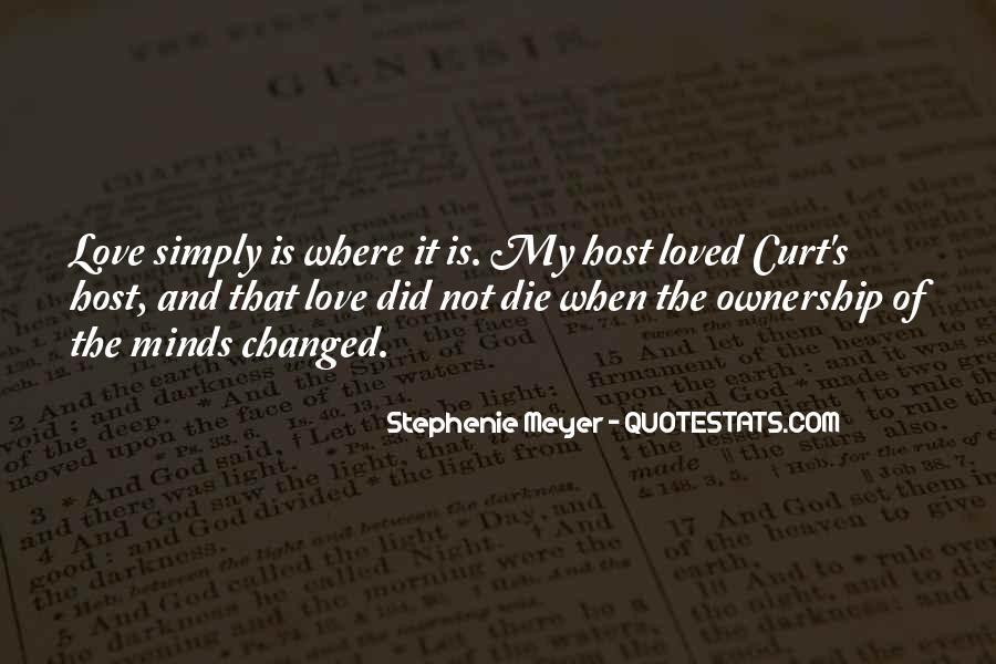 Stephenie Meyer Love Quotes #1216331